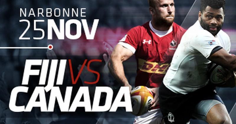 Face au Canada, les Fidji pourraient aligner la ligne de 3/4 la plus lourde de l'histoire
