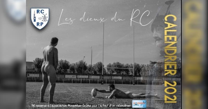 Avec son calendrier ''Les Dieux du RC'', le RCRP soutient la fondation Movember