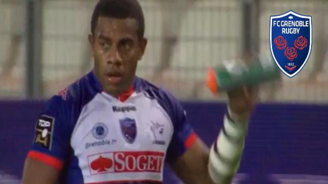 VIDÉO. FCG : Alipate Ratini dépose toute la défense des Harlequins pour un essai de 80 mètres !