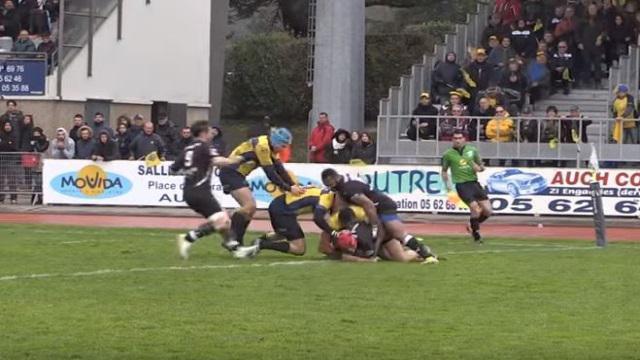VIDEO. Fédérale 1 : Auch fait tomber Nevers, l'incroyable pénalité de La Seyne face à l'USBPA