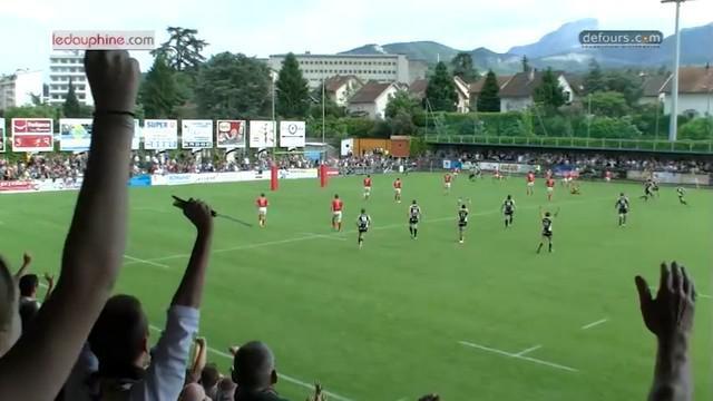 VIDEO. Fédérale 1. Chambéry se qualifie pour les demies aux dépens d'Auch à la 89e minute de jeu