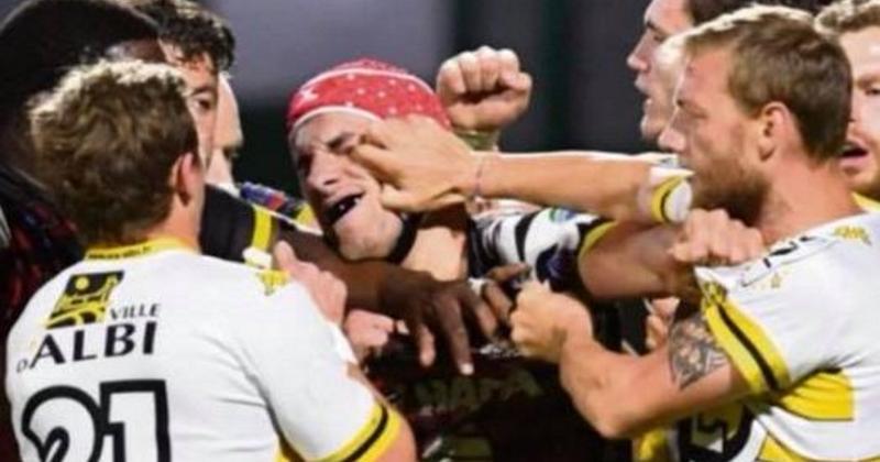 VIDÉO. Fédérale 1 Elite - 1/2 finale : un Albigeois coupable d'une fourchette face à Rouen ?