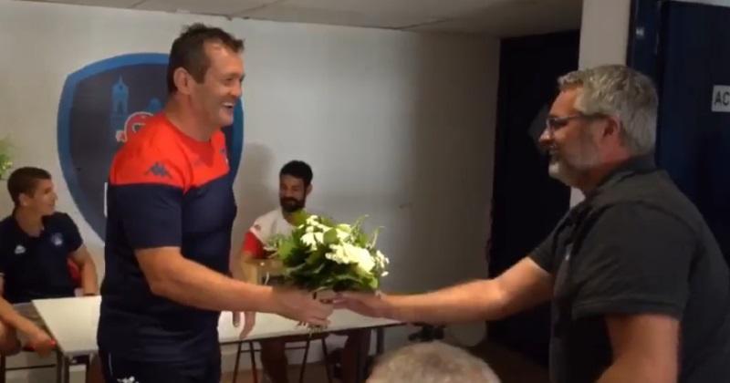 Fédérale 1 - Loin des polémiques, cet entraîneur réalise un geste très valeur ! [VIDEO]