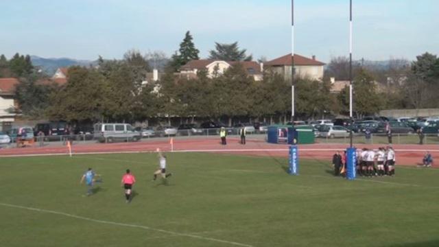 VIDEO. INSOLITE. Fédérale 1 : La transformation d'Aubenas contrée dans le derby face à Romans
