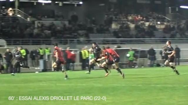 VIDEO. Fédérale 1. Le derby pour Bagnères, nouveau bonus pour le PARC, Bergerac enchaîne à l'extérieur