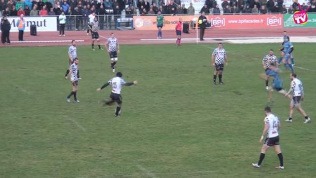 VIDEO. Fédérale 1. Le derby face à Aubenas dégénère après le drop victorieux de Romans