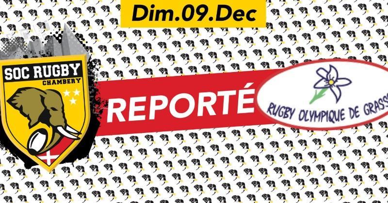 Fédérale 1 : le match Chambéry - Grasse reporté face à l'action des gilets jaunes