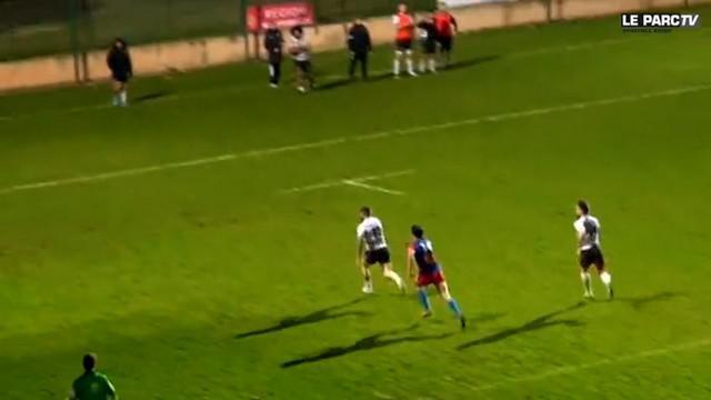 VIDEO. Fédérale 1. 18 essais inscrits lors des victoires du PARC, d'Oloron et du Stade Bagnérais
