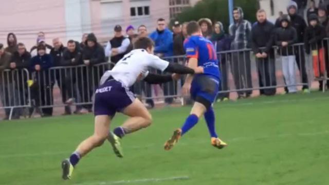 VIDEO. Fédérale 1 - Mâcon inscrit un superbe essai face à Bourg-en-Bresse