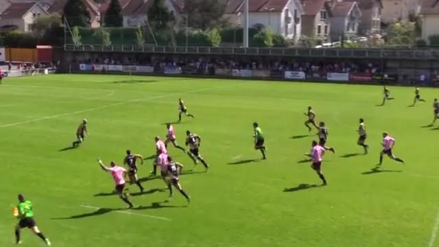 VIDEO. Fédérale 1. Romans s'offre un essai de 80 mètres face à Chambéry
