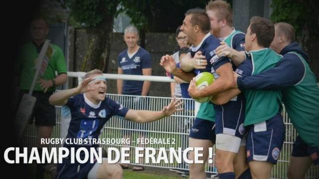 Fédérale 2 : Strasbourg champion de France, une finale Chartres - Peyrehorade en Fédérale 3