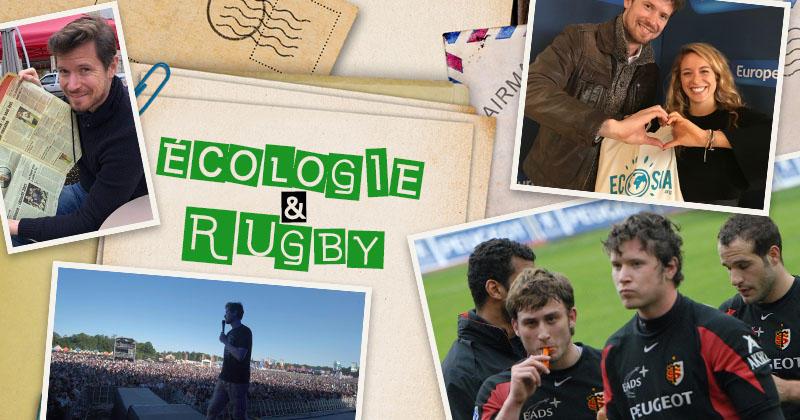 Les idées nouvelles de cet ancien joueur de Toulouse pour plus d'écologie dans le rugby