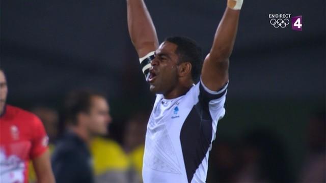 Rio 2016 - Les Fidji champions olympiques de rugby à 7, un titre historique