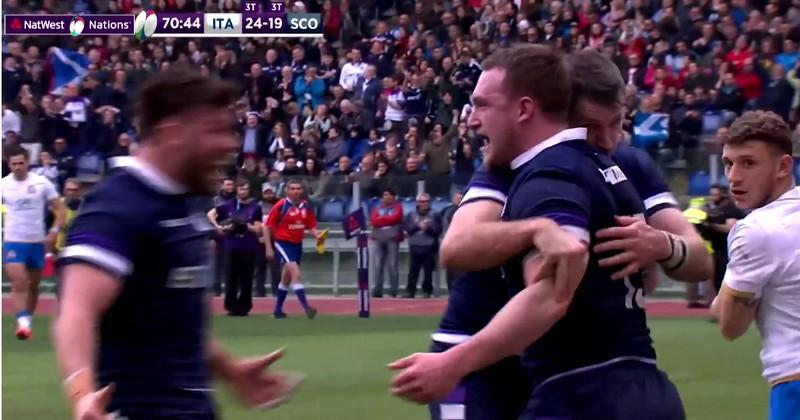 VIDEO. 6 Nations 2018. Fin de match folle et à suspense entre l'Italie et l'Ecosse