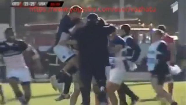 VIDEO. Fin de match incroyable avec la victoire des USA en Géorgie