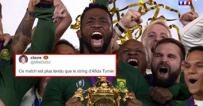 Finale Coupe du monde : le sacre des Springboks a enflammé les réseaux sociaux !