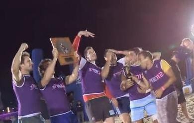 BRT 2012 : Pierrelatte (F) et Sarako Izarra (H) champion(ne)s de France de Beach Rugby