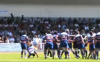 VIDEO. Bagarre générale en demi-finale honneur entre Pont-Long et Saint-Lary