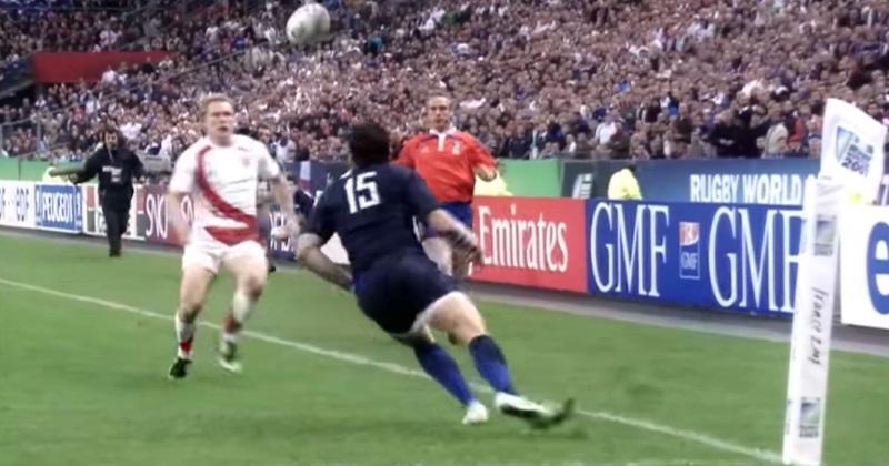 FLASHBACK 2007 : le jour où le rebond trompe Damien Traille, et précipite l'élimination du XV de France [VIDÉO]