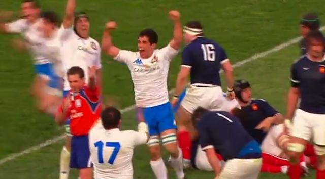 FLASHBACK. VIDEO. 2011 : L'Italie bat le XV de France après un suspense insoutenable