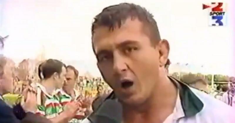 FLASHBACK - Pierre Triep-Capdeville dénonce les Britanniques dans une interview mythique d'après-match [VIDEO]