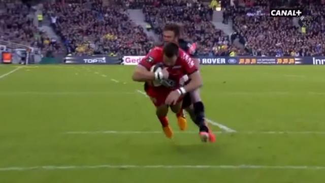 VIDEO. FLASHBACK. 2013. Le coup de pied millimétré de Michalak et l'essai refusé à Jauzion marquent la demi-finale entre Toulon et Toulouse