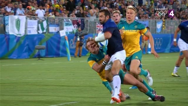 VIDEO. Rio 2016 - France 7 décroche la 7e place après sa victoire sur l'Australie (12-10)