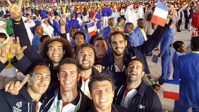 Rio 2016 - Revivez la cérémonie des Jeux olympiques avec l'équipe de France de rugby à 7