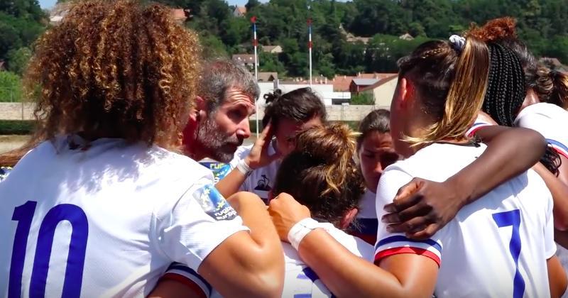 Les Bleues deviennent vice-championnes d'Europe à 7 !