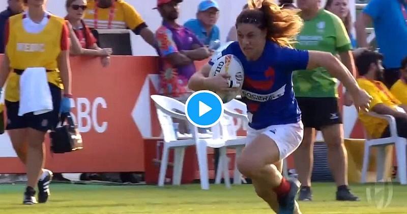 Dubaï 7s -  29 - 0 ! France 7 féminin a puni l'Angleterre sur un score sans appel !