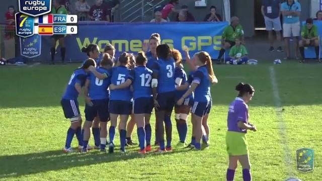 VIDÉO. France 7 féminines survole la première journée du tournoi de Malemort