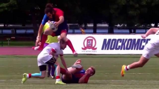 Rugby à 7. France 7 survole la concurrence lors de la première journée du Moscou Seven