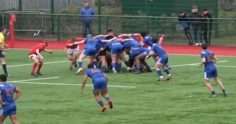 VIDEO. Moins de 18 ans. France A domine le Pays de Galles, France B tombe contre la Géorgie
