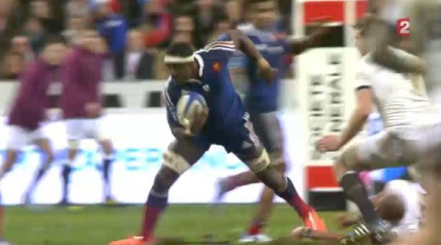VIDÉO. XV de France : La performance de Yannick Nyanga contre l'Angleterre
