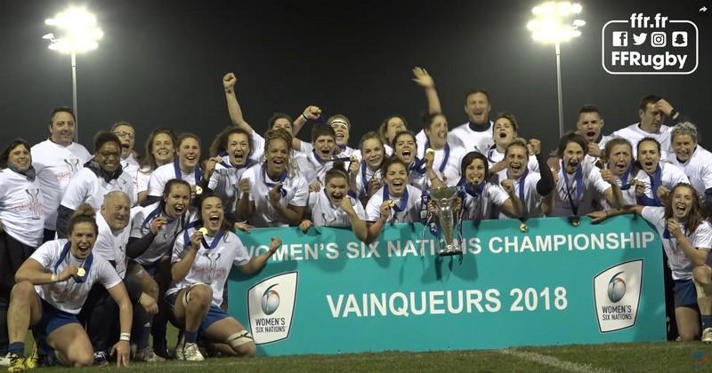 RÉSUMÉ VIDÉO. 6 Nations. France Féminines corrige le Pays de Galles et remporte le Tournoi