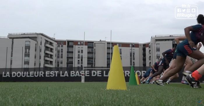 VIDÉO. France féminines en bave avant le début de la Coupe du monde