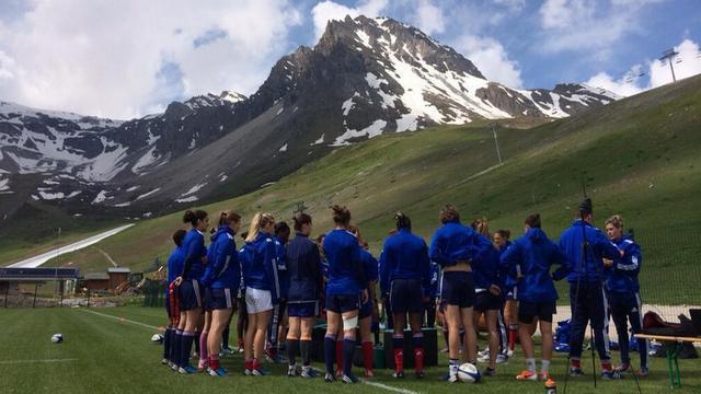 VIDEO. France Féminines en bavent lors d'un stage ultra intensif à Tignes avant la Coupe du monde
