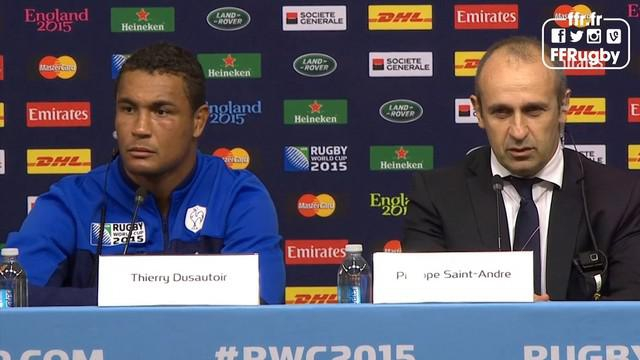 VIDEO. Coupe du monde. France - Italie. Les réactions des joueurs et de Twitter après la victoire et la blessure de Yoann Huget