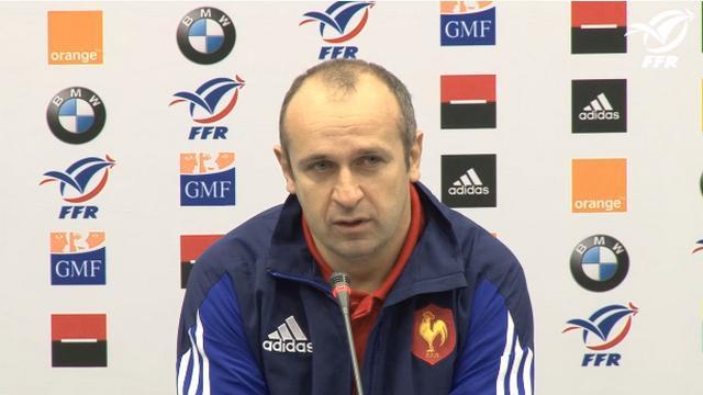 XV de France : Philippe Saint-André : « J'attends de Sofiane Guitoune qu'il fasse un grand match »