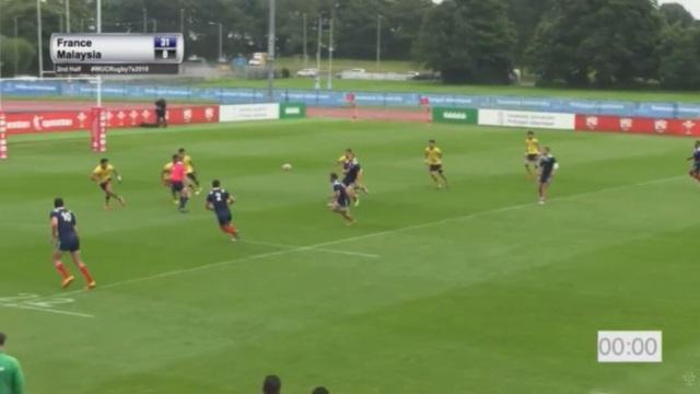 VIDEO. France U 7s bat la Malaisie en ouverture des championnats du monde (36-0)