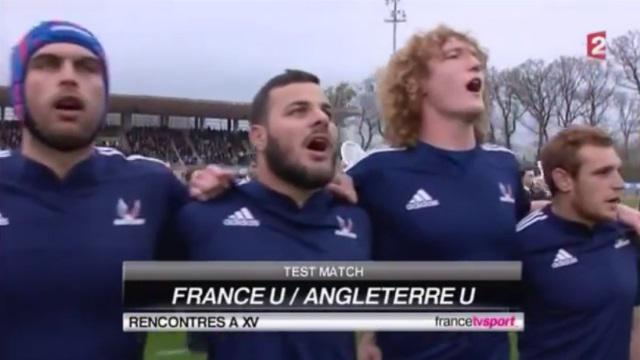 VIDEO. La belle victoire de France Universitaire face à l'Angleterre (30-27)