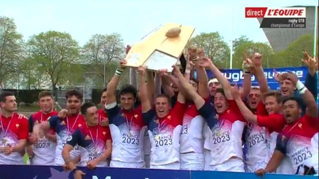 RESUME VIDEO. France U18 championne d'Europe pour la troisième fois de rang