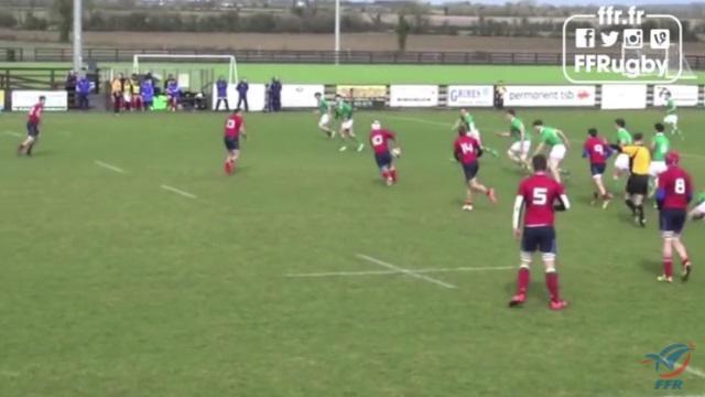 VIDEO. France U18 : les Bleuets dominent l'Irlande et remportent le Festival des 3 Nations