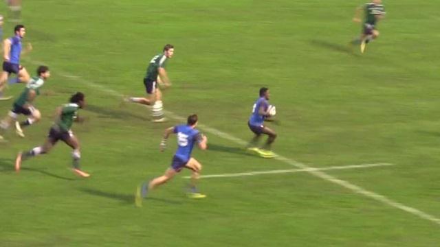 VIDEO. U19 - La France bat l'Italie 17 à 14 avec un Gabriel N'Gandebe en feu