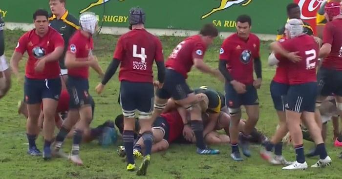 VIDEO. Essai en force et interception fatale : France U19 triomphe des Baby Boks sur leurs terres