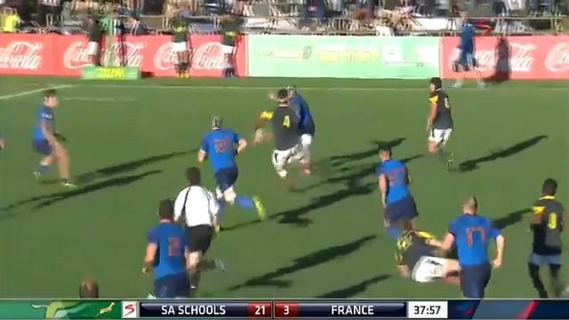 VIDÉO. France U19 corrigée par l'Afrique du Sud (42-3)