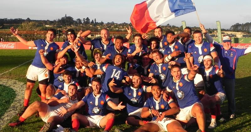 VIDEO. U18 International Series. France U20 développement enchaîne face à l'Afrique du Sud