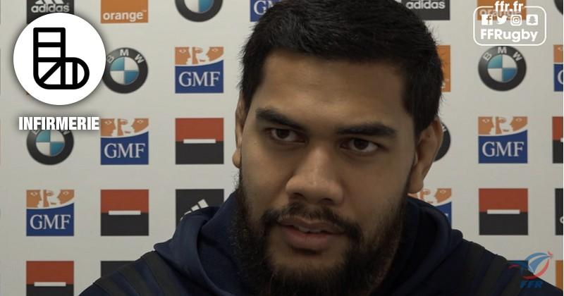 6 Nations - France/Angleterre. Romain Taofifenua forfait pour le Crunch