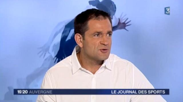 """VIDEO. Top 14 - ASM. Franck Azéma estime qu'Alexandre Ruiz a manqué de """"cojones"""""""