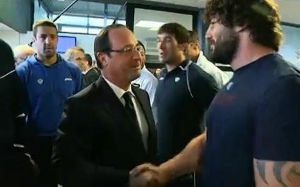 Mourad Boudjellal veut une bise de François Hollande